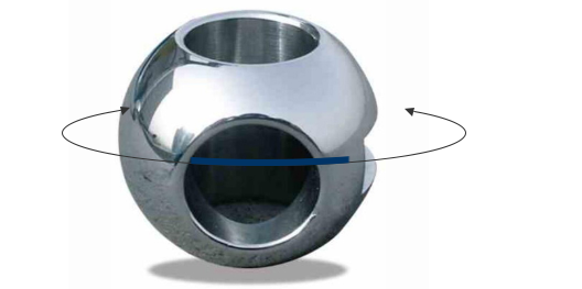 Stainless Steel Balance Valve Ball