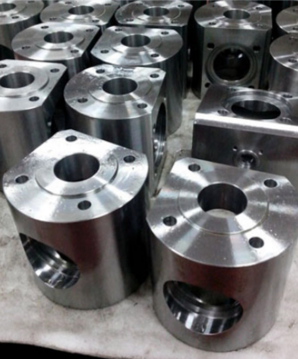 Four Way Ball Valve Body